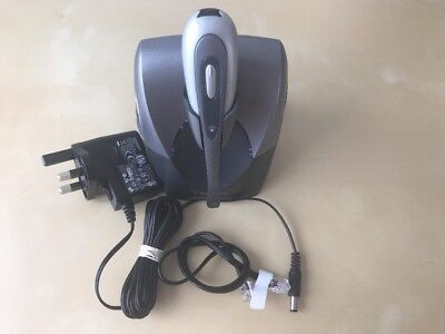Plantronics CS60 Cordless Headset Charging Station w/ Headset & Power Supply