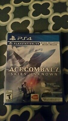 Ace Combat 7 Unknown Skies (PS4 and PSVR)