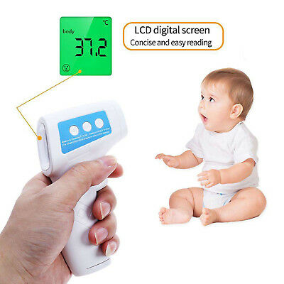 Digital IR Infrared Thermometer Baby Body Non-Contact Laser Temperature Gun