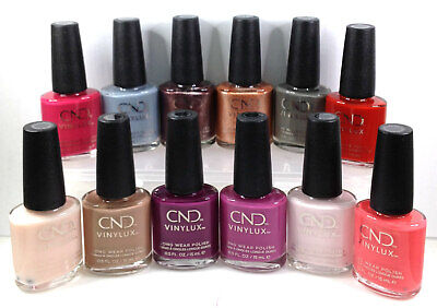 CND Vinylux - Nail Polish Lacquer - 15 EXCLUSIVE SHADES 15ml/0.5oz - Choose Any