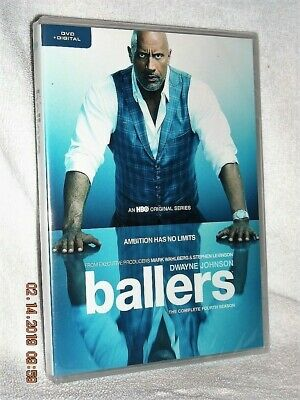 Ballers The Complete Fourth Season (DVD, 2019) NEW Dwayne The Rock Johnson 4th
