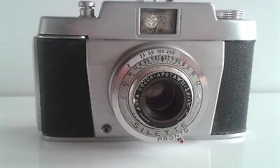 Vintage Agfa Silette   35mm Film Camera.