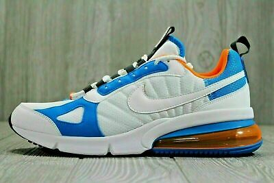 size 40 bf4fd 719a0 NIKE AIR MAX 270 Futura White Total Orange Running Mens Ao1569-100