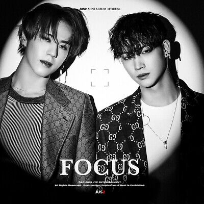 JUS2 GOT7 - FOCUS [B ver.] CD+2Photocards+Pre-Order Benefit+Poster+Gift