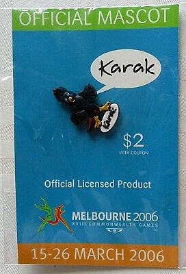 Commonwealth Games Melbourne 2006 ~ Karak Lapel Pin - BNIP