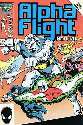 Alpha Flight 96, 127,  and Annual 1   VG