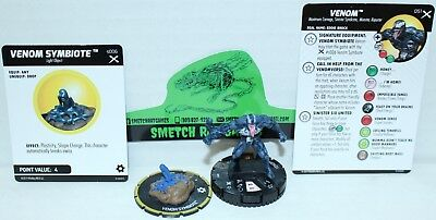 Marvel Heroclix Earth X SR Super Rare Figure EAX 051 Venom + Equipment Object