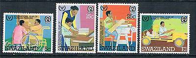 Swaziland 1981 Year for Disabled SG 389/92 MNH