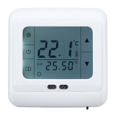 5 - 35C Floor Heating Thermostat LCD Intelligent Programmable Temperature Contro