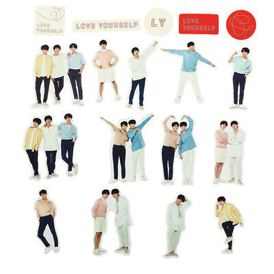 KPOP BTS Bangtan Boys Sticker DIY Album Scrapbook Deco SUGA JIN JIMIN Sticker