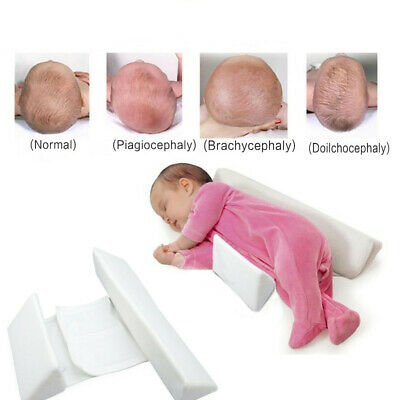 Newborn Infant Anti-Roll Sleep Pillow Support Wedge Adjustable Width Cushion Cot