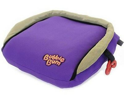 BubbleBum Inflatable Travel Car Booster Seat, Purple