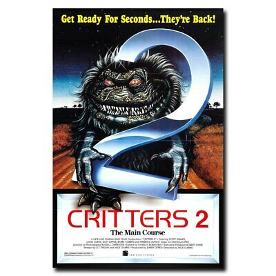 Critters 2 24x36inch 80's Classic Horror Movie Silk Poster Large Size