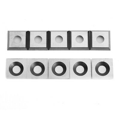 10pcs 11mm Square Carbide Insert Cutter 4-Edge for Woodworking Turning tools