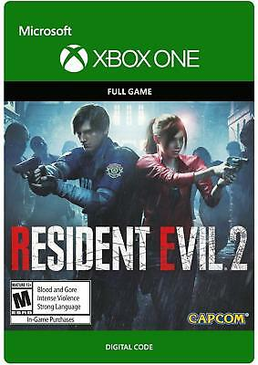 RESIDENT EVIL 2 XBOX ONE [Full game]