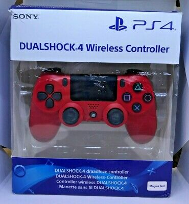 Official Sony Playstation 4 PS4 V2 Dualshock Controller Magma Red - NEW IN BOX