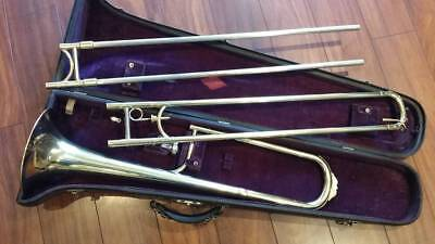 "King ""Low Pitch"" Slide Trombone Very Nice !"