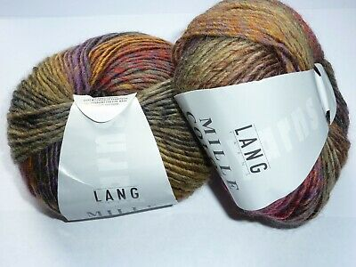 Lang Yarns - Mille Colori - 2 X 50 G - New