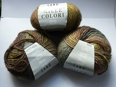 Lang Yarns - Mille Colori - 3 X 50 G - New