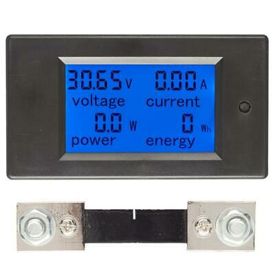 100A DC Digital Multi-function Voltage Current Power Electric Energy Meter Batte
