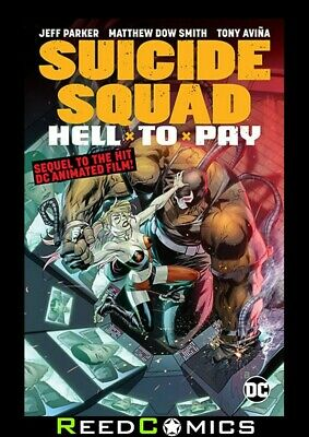SUICIDE SQUAD HELL TO PAY GRAPHIC NOVEL Collects 12 Part Digital First Series