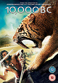 10,000 B.C. (action / adventure) NEW & SEALED - UK DVD - FREE P&P