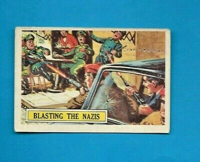 1965 A&bc (Not Topps) Battle Cards British  #26 Blasting The Nazis 1 On Ebay
