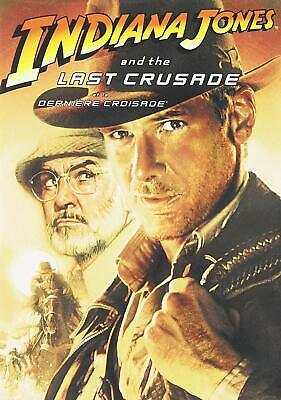 Indiana Jones and the Last Crusade (DVD, 2008, Canadian French) Brand New