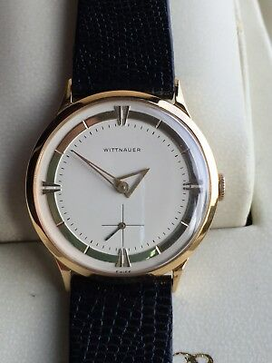 Vintage WITTNAUER Manual Wind Dress Watch Serviced Rare