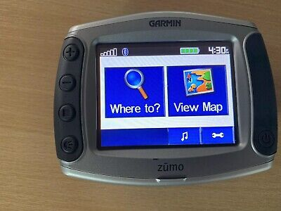 garmin zumo 550 sat nav and mount