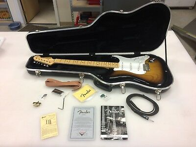 Fender Stratocaster 50th Anniversary Collection - 2 Guitars and Collectibles