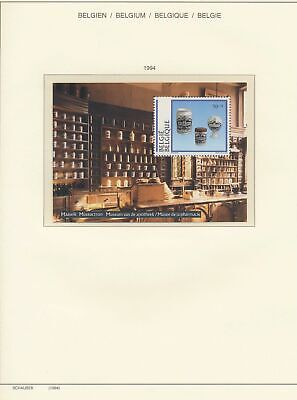 XB41367 Belgium 1994 pharmacy museum good sheet MNH fv 50 BEF