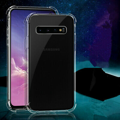 Shockproof Clear Soft Silicone Case For Samsung Galaxy S7 S8 S9 S10 Plus Case