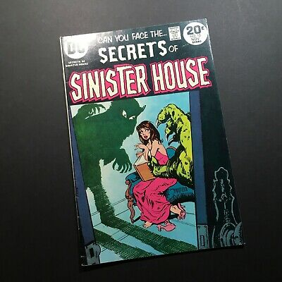 Can You Face The...Secrets Of Sinister House DC Comic #15 November 1973