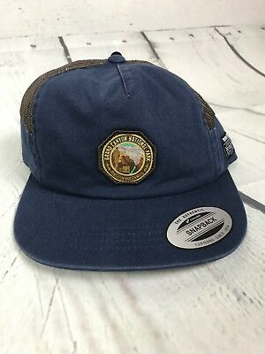 NWT Unisex Hurley Pendleton Hat Grand Canyon National Park Collection Snapback