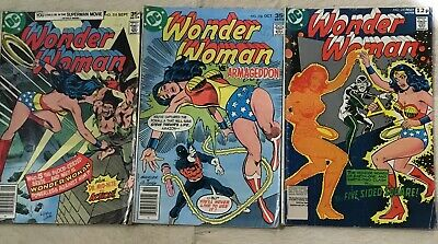 Wonder Woman #235, #236 And #243 All Reading Copies 1p No Reserve