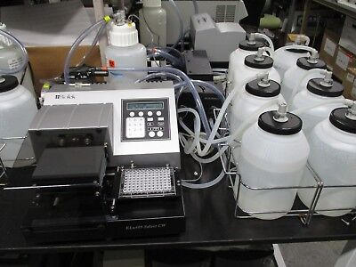 BioTek ELx405 Select CW  Part # ELX405UCW Microplate Washer complete system