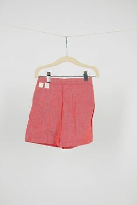 Betty's Department Red Shorts Vintage 1950s 60s MCM Deadstock New Kid NWT Cotton