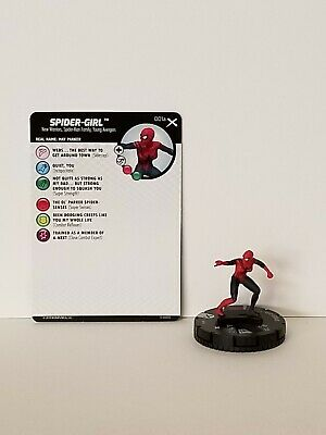 MARVEL HEROCLIX: Earth X Spider-Girl #001a W/CARD