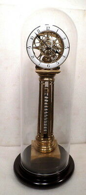 "#1 Largest Coil Spring Wound Fusee Driven Clock--23 1/2"" Tall With Pendulum--WOW"