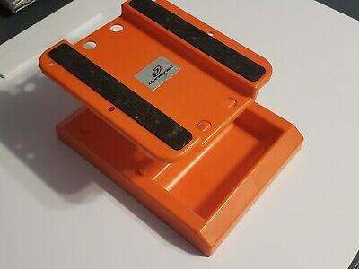 Duratrax Pit Tech Deluxe RC Car and Truck Work Stand, Orange