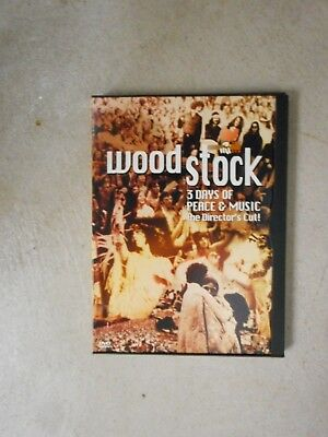 Woodstock The Director's Cut DVD Never Watched Free Shipping