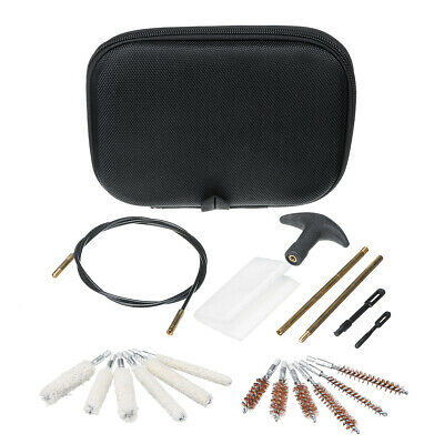 16pcs Cleaning Brush Kit .22 357 .38 Tube Brusher Cleaning Tool