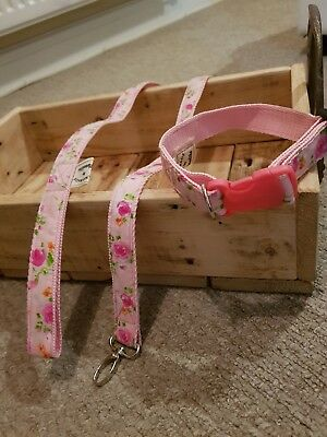 Dog/puppy leads/collars/Bow Tie/Handmade/Matching