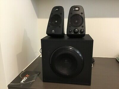 logitetch speaker Z623 - with sub woffer