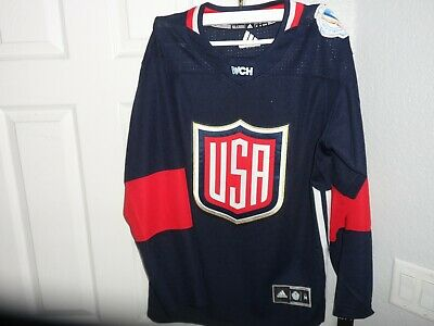 Adidas Premier World Cup Jersey United States Hockey Team Navy sz M