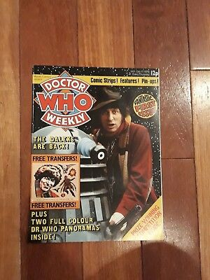 Doctor Who Weekly No 1 Marvel Comic Oct 17th 1979 Dr Who FIRST ISSUE!!!!