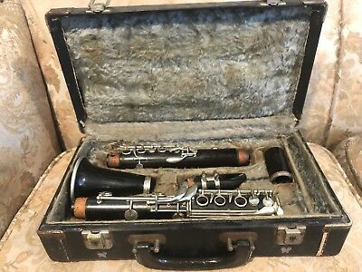 Vintage Pruefer Baxter Northrop Co Los Angeles Clarinet