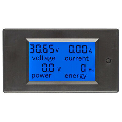 20A DC Digital Multi-function Voltage Current Power Electric Energy Meter Batter