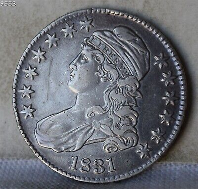 """1831 Capped Bust Half Dollar """"XF"""" *Free Shipping After First Item*"""